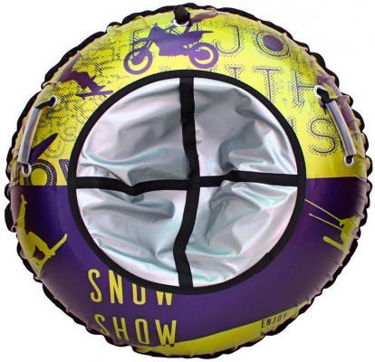 Тюбинг RT Hipster СПОРТ Enjoy, диаметр 105 см до 120 кг разноцветный ПВХ