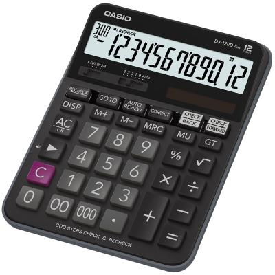 Калькулятор настольный CASIO DJ-120D Plus 12-разрядный