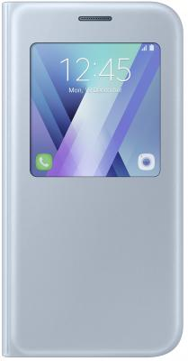 Чехол Samsung EF-CA520PLEGRU для Samsung Galaxy A5 2017 S View Standing Cover синий