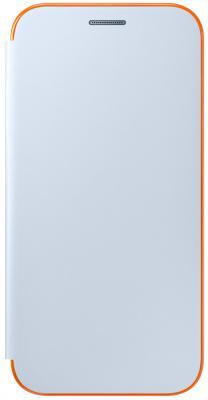 Чехол Samsung EF-FA320PLEGRU для Samsung Galaxy A3 2017 Neon Flip Cover синий