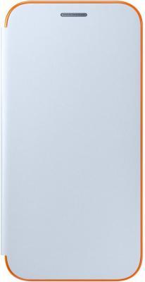 Чехол Samsung EF-FA720PLEGRU для Samsung Galaxy A7 2017 Neon Flip Cover синий