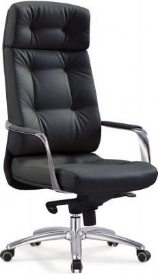 Кресло Бюрократ Dao/Black кожа черный