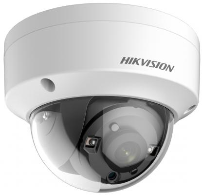 Камера видеонаблюдения Hikvision DS-2CE56F7T-VPIT CMOS 2.8мм ИК до 20 м день/ночь камера видеонаблюдения hikvision ds 2ce56f7t itz 2 8 12мм ик до 30 м