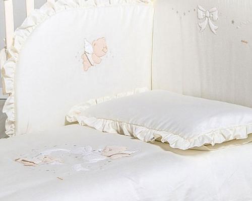 Сменное постельное белье Italbaby Sweet Angel (белый/020.1130-0815)