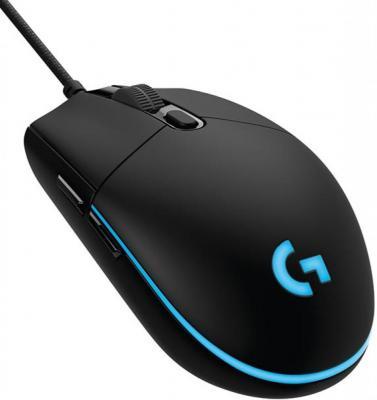 Мышь проводная Logitech G102 чёрный USB 910-004939