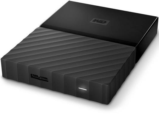 """Внешний жесткий диск 2.5"""" USB3.0 3 Tb Western Digital My Passport WDBUAX0030BBK-EEUE черный"""