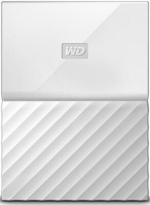 Внешний жесткий диск 2.5 USB3.0 4 Tb Western Digital My Passport WDBUAX0040BWT-EEUE белый t5 car 5 0mp digital video camcorder w 4 ir led 4x digital zoom 2 7 tft