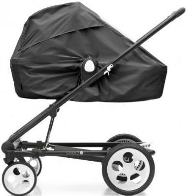 Дождевик на коляску Seed Splash (black)