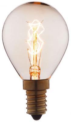 Лампа накаливания E14 25W шар прозрачный 4525-S