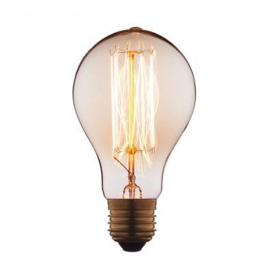 Лампа накаливания E27 40W груша прозрачная 7540-SC цена и фото