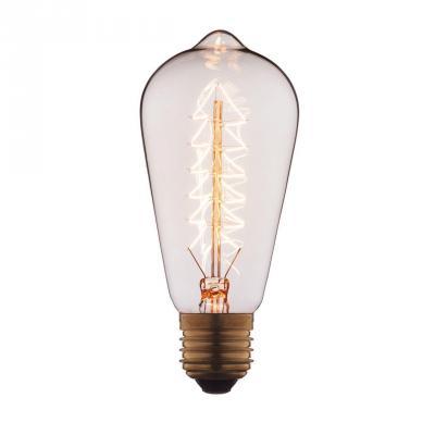 Лампа накаливания E27 40W колба прозрачная 6440-S