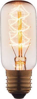 Лампа накаливания E27 40W цилиндр прозрачный 3840-S