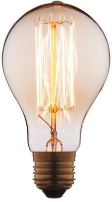 Лампа накаливания E27 60W груша прозрачная 7560-SC цена и фото