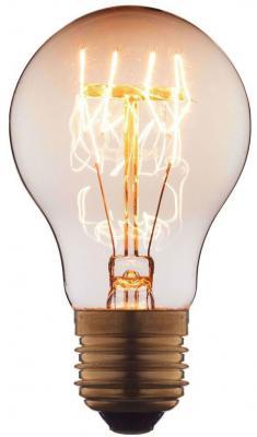 Лампа накаливания E27 60W груша прозрачная 7560-T цена и фото