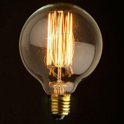 Купить Лампа накаливания E27 60W шар прозрачный G9560, Loft IT