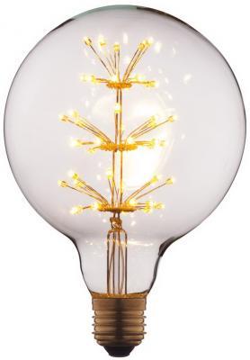 Лампа светодиодная E27 3W шар прозрачный G12547LED loft it лампа светодиодная loft it шар прозрачный e27 3w g8047led
