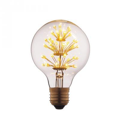 Лампа светодиодная E27 3W шар прозрачный G8047LED loft it лампа светодиодная loft it шар прозрачный e27 3w g8047led