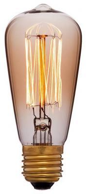 Лампа накаливания E14 25W колба золотая 053-587 радиоприемник 25 hifi 25w