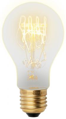 Лампа накаливания груша Uniel UL-00000476 E27 60W IL-V-A60-60/GOLDEN/E27 SW01 цена