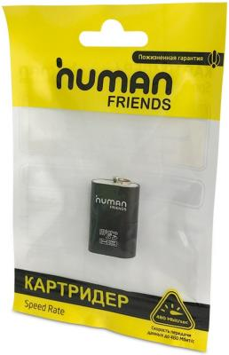 Картридер внешний CBR Human Friends Speed Rate Futuric Black MicroSD/T-Flash cbr human friends chess black