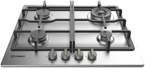 Варочная панель газовая Indesit THP 642 W/IX/I серебристый
