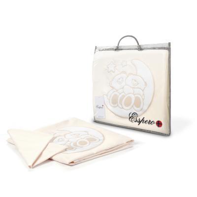 Комплект постельного белья 3 предмета Esspero Bears the Moon (beige)