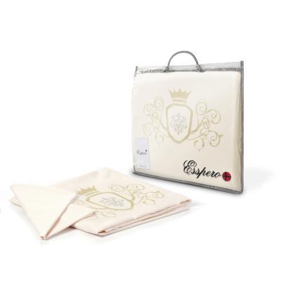 Комплект постельного белья 3 предмета Esspero Сrown (beige)