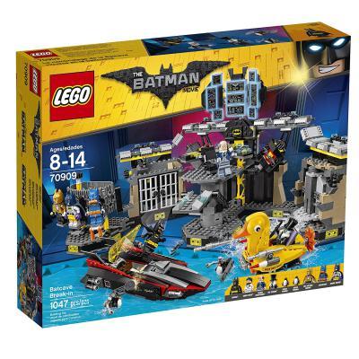 Конструктор LEGO Бэтмен Нападение на Бэтпещеру 1047 элементов