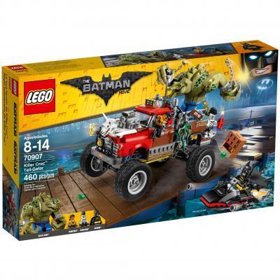 Конструктор LEGO Бэтмен Хвостовоз Убийцы Крока 460 элементов