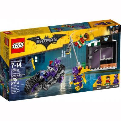 Конструктор LEGO Бэтмен Погоня за Женщиной-кошкой 139 элементов