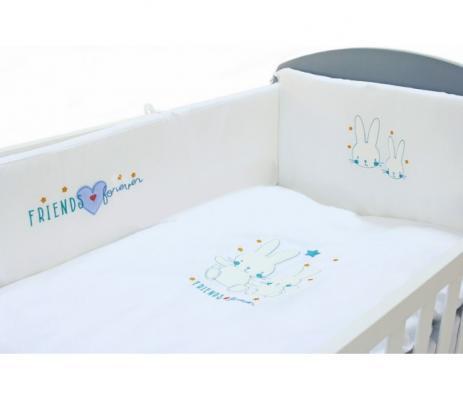 Постельный сет 5 предметов 120х60см Fiorellino Friends Forever постельный сет 7 предметов 120х60см giovanni shapito bonny bunny