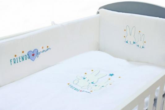 Сменное постельное белье 3 предмета Fiorellino Friends Forever постельное белье forest bow wow 3 предмета
