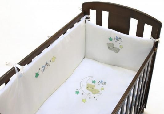Сменное постельное белье 3 предмета Fiorellino Sweet Dreams постельное белье kidboo blue marine 4 предмета
