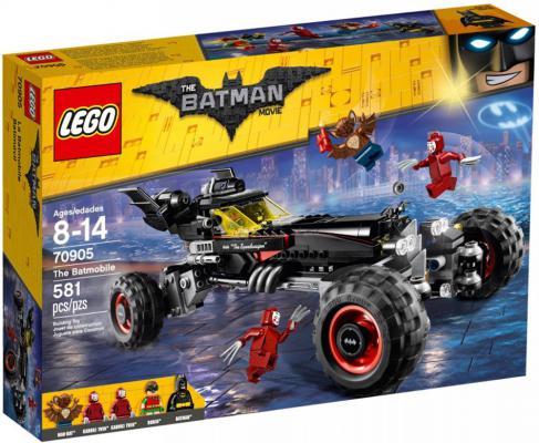 "Конструктор LEGO ""Фильм: Бэтмен"" - Бэтмобиль 581 элемент  70905"