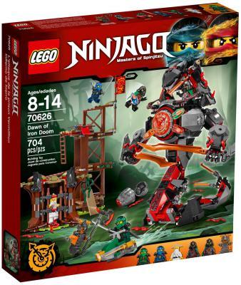 Конструктор LEGO Ninjago: Железные удары судьбы 704 элемента 70626