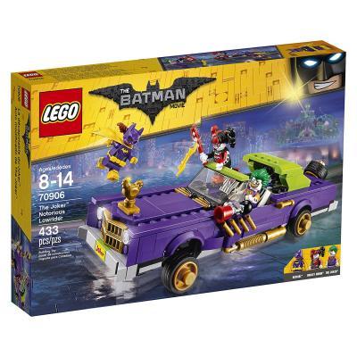 Конструктор LEGO Бэтмен Лоурайдер Джокера 433 элемента