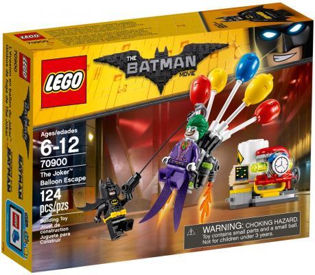 Конструктор LEGO Побег Джокера на воздушном шаре 124 элемента