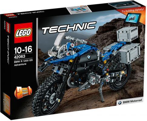 Конструктор LEGO Technic: Приключения на BMW R 1200 GS 603 элемента 42063 lego technic конструктор приключения на bmw r 1200 gs 42063