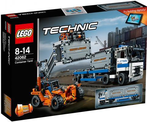 Конструктор LEGO Technic: Контейнерный терминал 631 элемент 42062