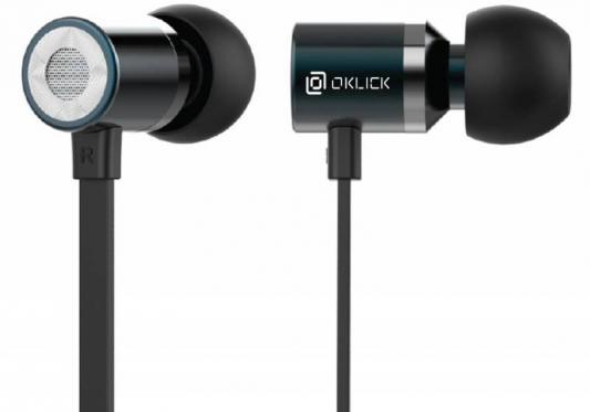 Гарнитура Oklick HS-S-410 черный проводная гарнитура oklick hs s 210 черный