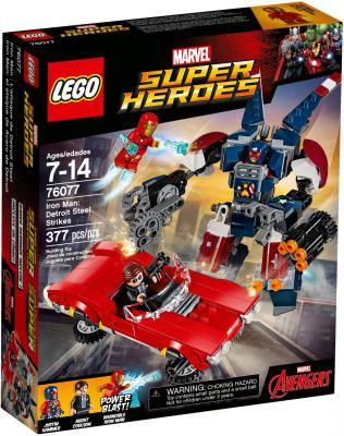 Конструктор LEGO Super Heroes: Железный человек: Стальной Детройт наносит удар 377 элементов 76077