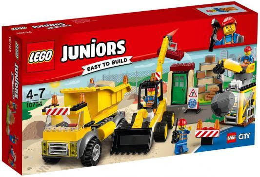 Конструктор LEGO Juniors: Стройплощадка 175 элементов 10734