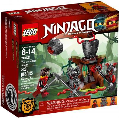 Конструктор LEGO Ninjago: Атака Алой армии 83 элемента 70621