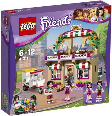 Конструктор LEGO Friends: Пиццерия 289 элементов 41311 lego friends со сменным элементом