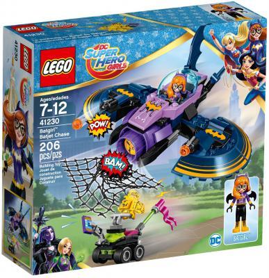 Конструктор LEGO Cупергёрлз Бэтгёрл: Погоня на реактивном самолёте 206 элементов 41230