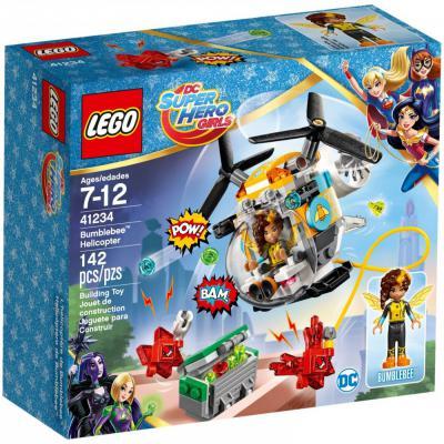 """Конструктор LEGO """"Супергероини DC"""" - Вертолет Бамблби 142 элемента  41234"""