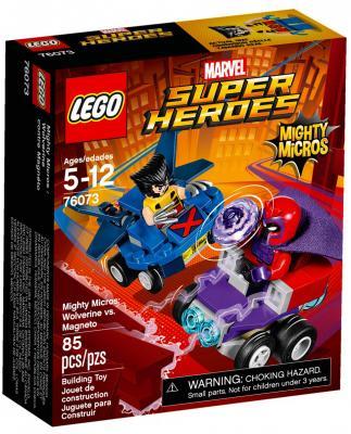 """Конструктор LEGO """"Супергерои"""" - Росомаха против Магнето 85 элементов 76073"""