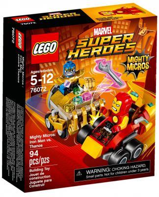 """Конструктор LEGO """"Супергерои"""" - Железный человек против Таноса 94 элемента"""
