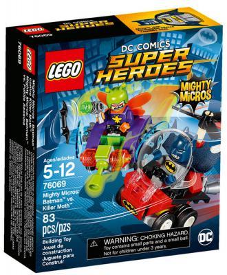 "Конструктор LEGO ""Супергерои"" - Бэтмен против Мотылька-убийцы 83 элемента"