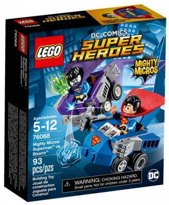"Конструктор LEGO ""Супергерои"" - Cупермен против Бизарро 93 элемента"